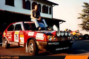 Matteo Luise e la Fiat Ritmo 130
